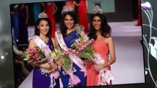 Miss India Kolkata 2015 Tanya Hope crowning