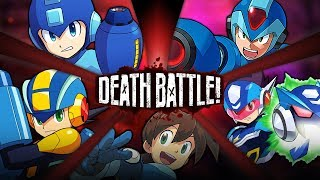 Mega Man Battle Royale | DEATH BATTLE!