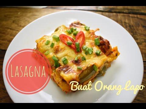 How to make Lasagna | Cara membuat Lasagna