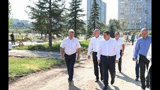 Губернатор Андрей Бочаров поставил задачи по развитию Дзержинского района