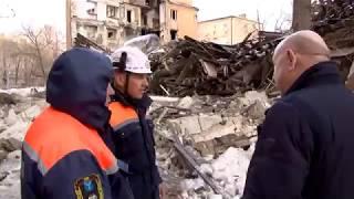 В Саратове на улице Киевской рухнул дом