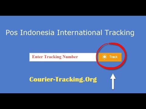 Pos Indonesia International Tracking Guide