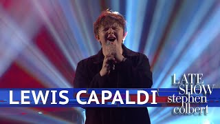 Lewis Capaldi Performs 'Someone You Loved'