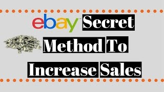 How To List Items On Ebay   Dropshipping Method To Increase More Sales
