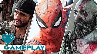 SONY E3 2017: The Best Gameplay Trailers from the PlayStation Press Conference | E3 2017 RECAP