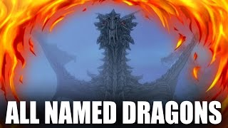 Skyrim - All Named Dragons