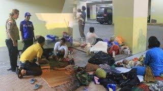 Pasca-tsunami di Pesisir Lampung Warga Masih Trauma dan Takut Pulang ke Rumah
