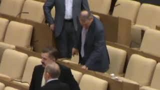 Депутаты Госдумы голосование