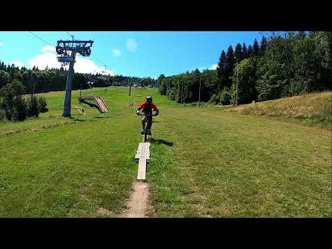 Bikepark Klíny modrá 2021