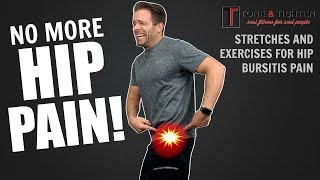 IT WORKS! How To Treat Hip Pain At Home - Physical Therapy