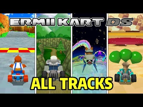 how to make a mario kart ds rom hack