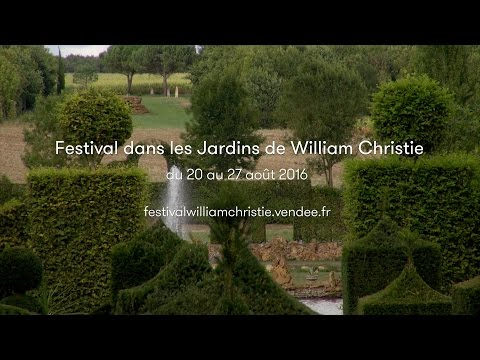 Festival dans les Jardins de William Christie - Teaser 2016