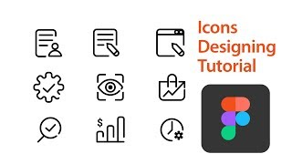Figma Iconography Tutorial: How To Create Line Icons For Your Ui Design By Using Free Software Figma