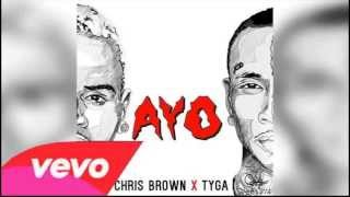 Chris Brown feat. Tyga - Ayo (Official Clean Audio)