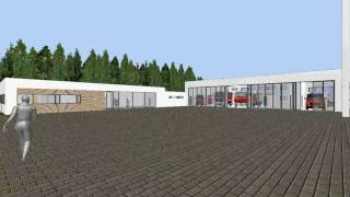 preview picture of video '3D-Rundgang Rettungszentrum Wald'