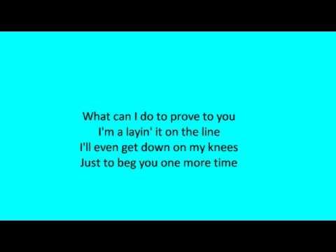 John Michael Montgomery - Be My Baby Tonight (lyrics)