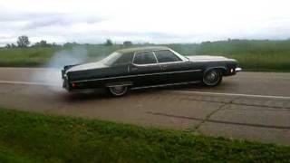 Oldsmobile Burnout olds 98 cyclones doughnut posi 455 ninety eight