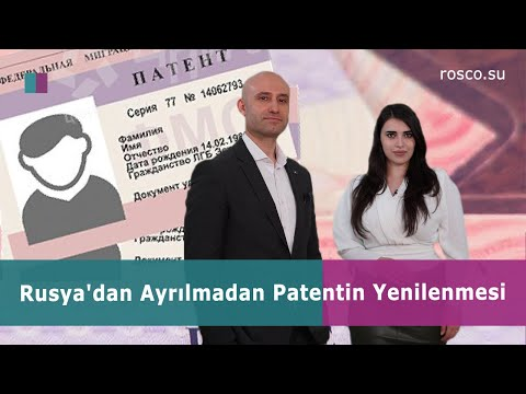 RUSYA'DAN AYRILMADAN PATENT YENİLEME