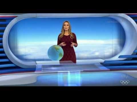 """Vídeo: Record copia modelo de previsão do tempo do """"Jornal Nacional"""""""