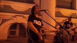 Уличные Музыканты в Питере поют Цоя. Супер!