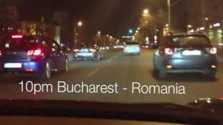 preview picture of video 'Bucharest car street races'
