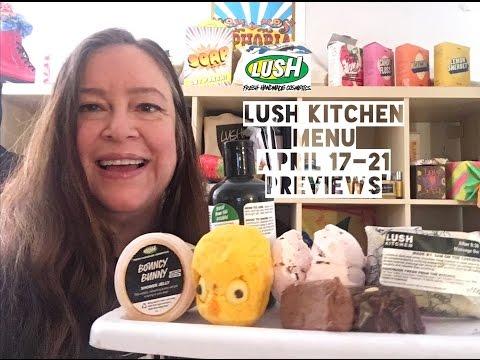 Lush Kitchen Menu April 17-21 | Lush Encyclopedia Blog
