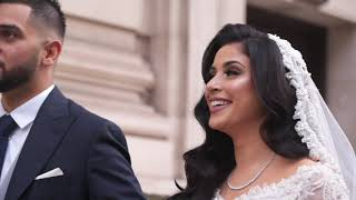 Umar & Mariyah // Vanity Femme Wedding Reception Highlights // Grand Connaught Rooms, London