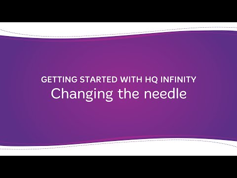 HQ Infinity - Changing the Needle