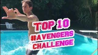TOP 10 BEST AVENGERS ASSEMBLE CHALLENGE | NOTORIOUZ