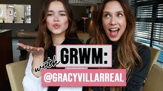 Sun-Kissed Makeup, Young Mom Regrets & Lessons   GRWM With Grace Villarreal