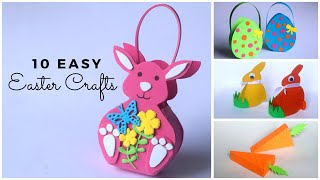 10 Easy Easter Craft Ideas To Make At Home | Easter Crafts For Kids