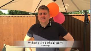 William's 4th birthday party