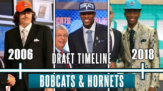 How The Charlotte Bobcats and Hornets WASTED 24 Draft Picks since 2006