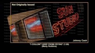 (1955) Sun ''I Couldn't Keep From Crying'' Johnny Cah