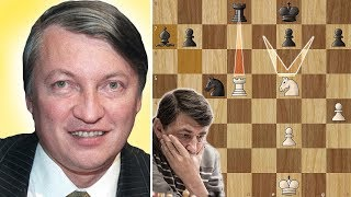 Biggest Blunder in Chess History - Karpov vs Bareev - Linares (1994)