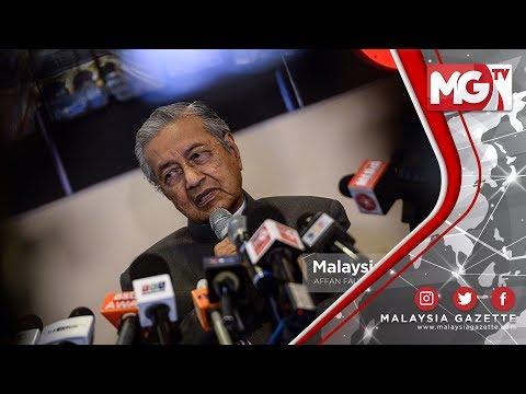 TERKINI : UMNO DAN PAS! Parti Kafir? - Tun Mahathir