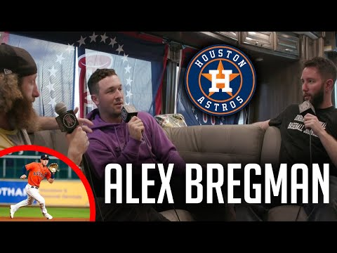 Alex Bregman Sleeps With His Bat After a Bad Game    Starting 9 Full Interview