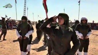 Las Combatientes Saharauis En El 40 Aniversario De La RASD #SaharaOccidental