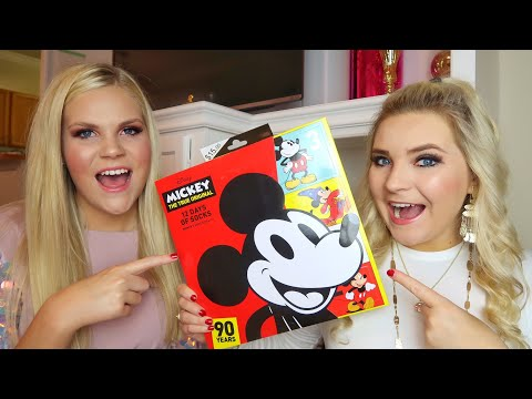 TARGET DISNEY 12 DAYS OF SOCKS! | Christmas Advent Countdown Calendar | Unboxing