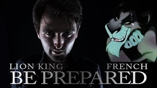 LION KING - Be Prepared [French / Metal cover]