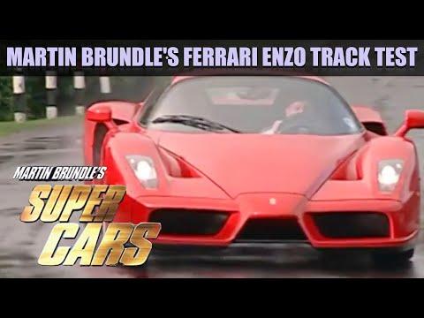 Martin Brundle's Ferrari Enzo Track Test | Fifth Gear