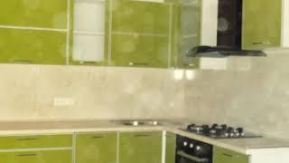 Кухня фото  № 73 алюминиевом профиле цвет Фисташковый. от компании Фаберме - видео