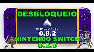DESBLOQUEIO KOSMOS ATMOSPHERE 0.8.2  NINTENDO SWITCH 6.2.0