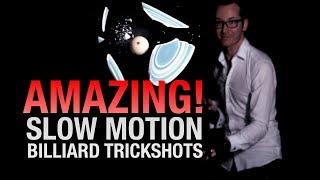 AMAZING SLOW MOTION BILLIARDS - Venom Trickshots IV- Ep:2