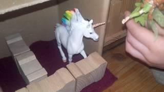 Rollenspiel Spielzeugfilm Einhorn Pferde Kinder Film Teil 2 (Spielzeugfilm)