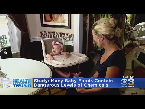 Study Finds 95% Of Baby Foods Contain Lead