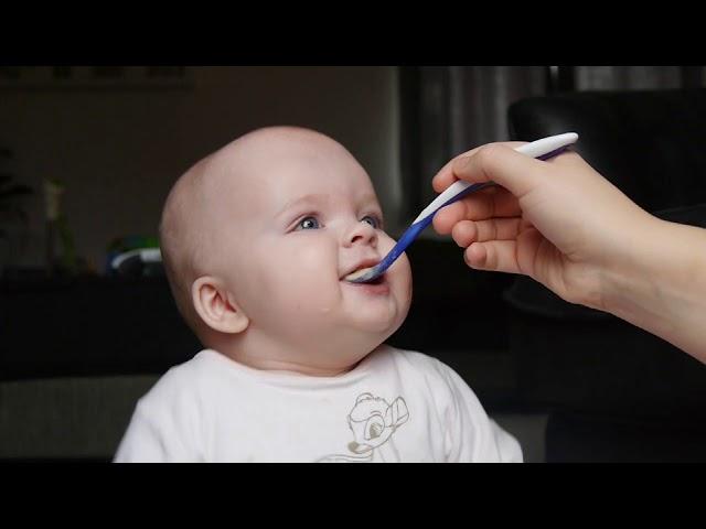 CUTE BABY LOVES FOOD   Funny & Sweet Baby Eating
