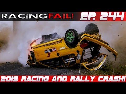 Racing and Rally Crash Compilation 2019 Week 244