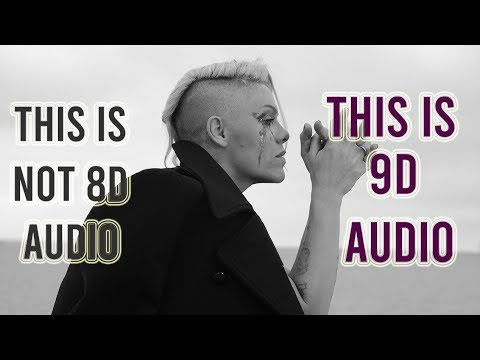 P!nk - Can We Pretend Ft. Cash Cash [9D AUDIO]