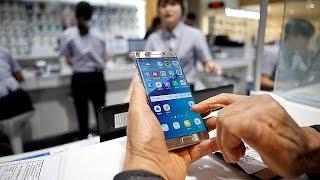 SAMSUNG EL.0,5GDRS144A/95 - Samsung: Defekte Batterien ließen Galaxy Note 7 explodieren